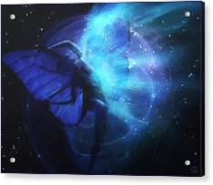 Cosmic Dance Of Joy Acrylic Print by Gun Legler