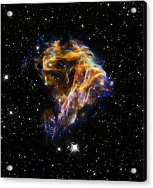 Cosmic Heart Acrylic Print by Jennifer Rondinelli Reilly - Fine Art Photography