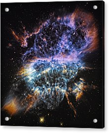 Cosmic Infinity 2 Acrylic Print by The  Vault - Jennifer Rondinelli Reilly