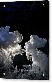 Cosmic Love Acrylic Print by Petros Yiannakas