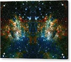 Cosmic Phoenix  Acrylic Print by Jennifer Rondinelli Reilly - Fine Art Photography