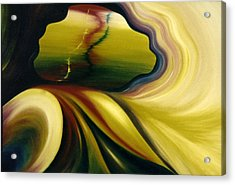 Cosmic Portal Acrylic Print by Glenda Stevens