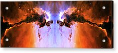 Cosmic Release Acrylic Print by The  Vault - Jennifer Rondinelli Reilly