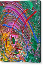 Cosmic Thoughts Acrylic Print by Donna Blackhall