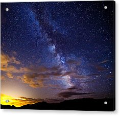Cosmic Traveler  Acrylic Print by Darren  White