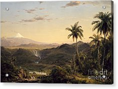 Cotopaxi Acrylic Print by Celestial Images