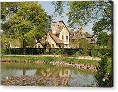 Cottage In The Hameau De La Reine Acrylic Print by Jennifer Ancker