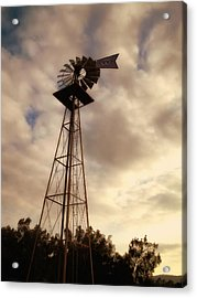 Cotton Skies Acrylic Print by Glenn McCarthy Art and Photography