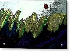 Country Abstract Acrylic Print by Lenore Senior
