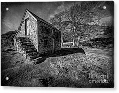 Country Cottage V2 Acrylic Print by Adrian Evans