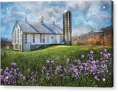 Country Life Acrylic Print by Lori Deiter