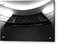 Country Music Hall Of Fame And Museum Acrylic Print by Dan Sproul