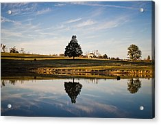 Country Peace Acrylic Print by Swift Family