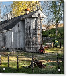 The Barnyard Square Acrylic Print by Bill Wakeley