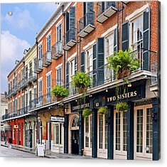 Court Of Two Sisters New Orleans Acrylic Print by Christine Till