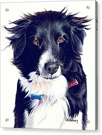 Cover Girl Acrylic Print by JK Dooley