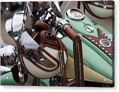Cowboys Of The 21st Century - Featured 3 Acrylic Print by Alexander Senin