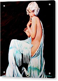 Coy Acrylic Print by Michael Durst