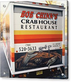 Crabhouse Truck Acrylic Print by Bill Jonas