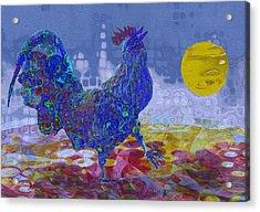 Crack Of Dawn Acrylic Print by Jack Zulli