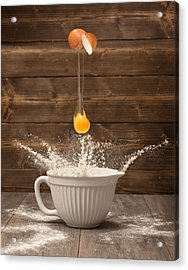 Cracking The Egg Acrylic Print by Amanda And Christopher Elwell