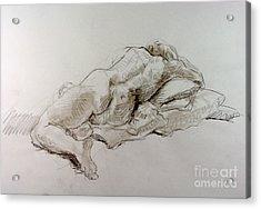Craig Weeping Acrylic Print by Andy Gordon