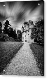 Craigievar Castle Acrylic Print by Dave Bowman