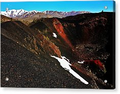 Craters Of The Moon Acrylic Print by Benjamin Yeager