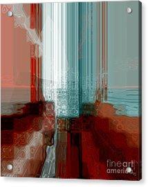 Crave To Receive Acrylic Print by Fania Simon