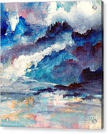 Creation Acrylic Print by Kathy Bassett