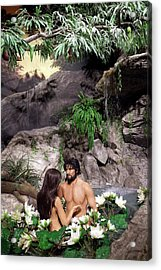 Creation Museum Exhibit Acrylic Print by Jim West