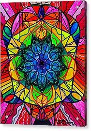 Creativity Acrylic Print by Teal Eye  Print Store