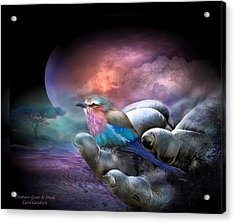 Creatures Great And Small Acrylic Print by Carol Cavalaris