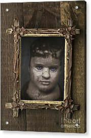 Creepy Relative Acrylic Print by Edward Fielding