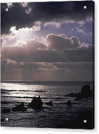 Crepuscular Rays Acrylic Print by Ken Dietz