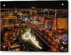 Cresendo Acrylic Print by Stephen Campbell