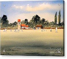 Cricket Acrylic Print by Bill Holkham