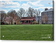 Cricket Field Haverford College Acrylic Print by Kay Pickens