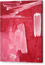 Crimson Narrative  C2013 Acrylic Print by Paul Ashby