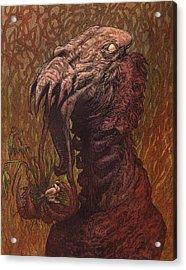 Croakjaw  Acrylic Print by Ethan Harris