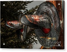 Crossing 1047 Acrylic Print by The Stone Age