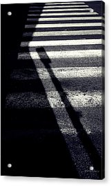 Crossing Guard Acrylic Print by Steven Milner