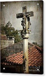 Cruceiro In Galicia Acrylic Print by RicardMN Photography