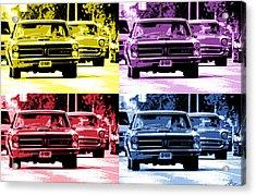 Cruise Pop 2 Acrylic Print by Gordon Dean II
