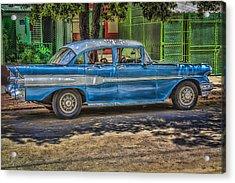 Cruisin Havana Acrylic Print by Erik Brede