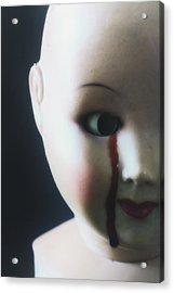 Crying Blood Acrylic Print by Joana Kruse