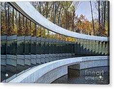 Crystal Bridges Acrylic Print by Elena Nosyreva