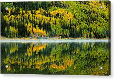 Crystal's Colors Acrylic Print by Darren  White