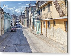 Cuba Pastell  Acrylic Print by Juergen Klust