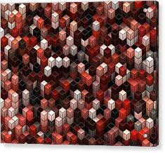 Cubed Again Acrylic Print by Jack Zulli